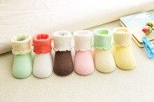 Baby Socks Newborn Cotton Boys Girls Cute Toddler Asymmetry Anti-slip Socks