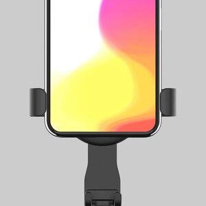 Image 3 - Youpin CARFOOK Gravity Sensor Car Holder Bracket with G Sensor One handed Operation Multi device Clip phone Holder phone support