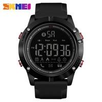 Fashion Sport Smart Watch Luxury Brand SKMEI Bluetooth Pedometer Calorie Digital Wrist Watch Waterproof Military LED Smartwatch