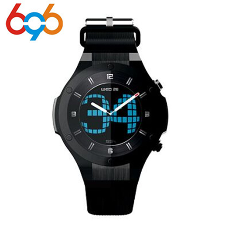 H2 3G Smart watch Phone 1.3'' Android 5.0 MTK6580 16GB 5.0MP Camera Heart Rate Monitor Pedometer GPS Smart Watchs PK KW88 гель la roche posay effaclar duo[ ] unifiant
