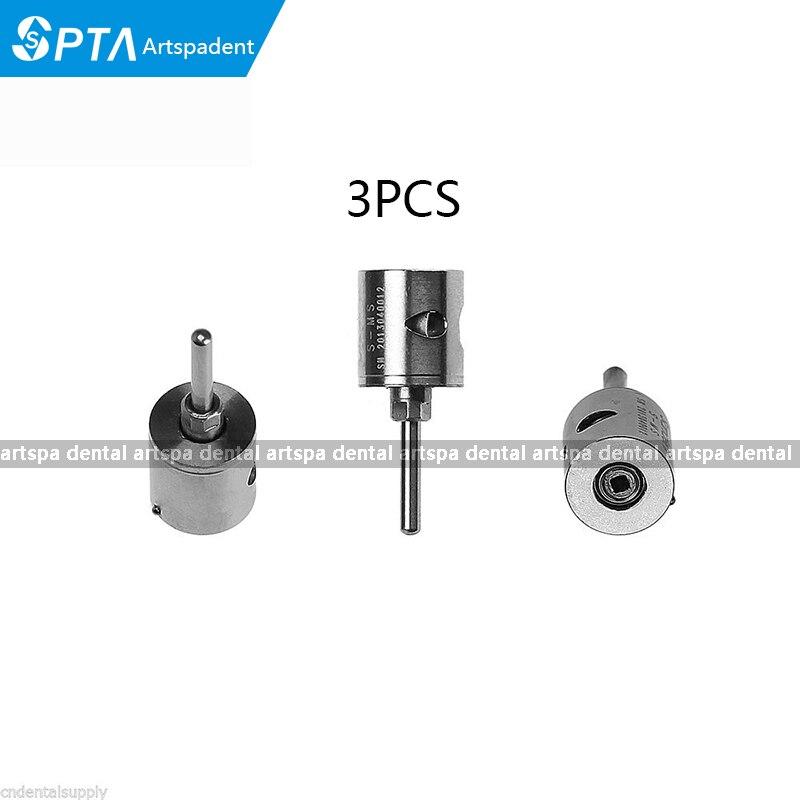 3 PCS Gigi Kecepatan Tinggi pana rotor udara Cartridge Keramik Bantalan / Turbin MINI Kepala kompatibel dengan NSK