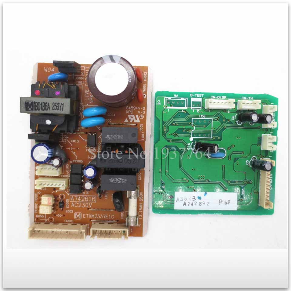 95% new for Air conditioning computer board circuit board A742616 A742892 good working set