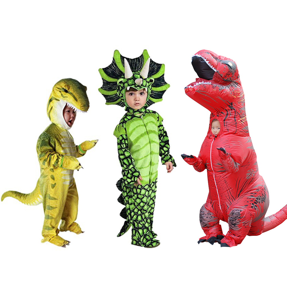 Toddler Dinosaur Jumpsuit Child Triceratops Costume Baby S