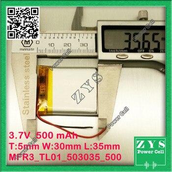 7 V Akku | Emballage De Sécurité (Niveau 4) 1 Pièces. Batterie Li-ion 3.7 V 500 MAh Batterie Rechargeable 3.7 V 500 Mah Taille: 5x30x35mm 503035 053035