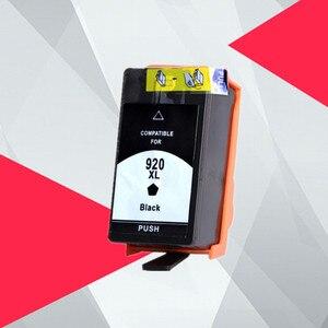 Совместимый Черный чернильный картридж для HP 920XL для HP 920 для HP920 Officejet 6000 6500 6500A 7000 7500 7500A принтер с чипом