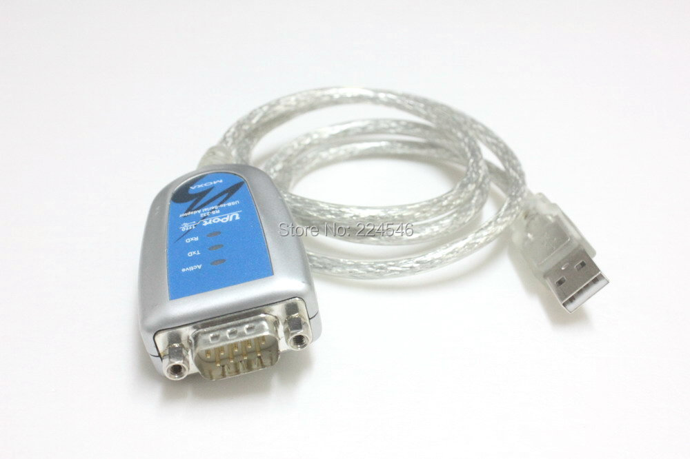 Moxa UPort 1110 USB-to-Serial RS-232 Converter