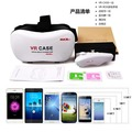 "VR Case VR Phone Box 2.0 Version Virtual Reality 3D Glasses+Remote Controller For Cellphone 4.0-5.5"" Inch"