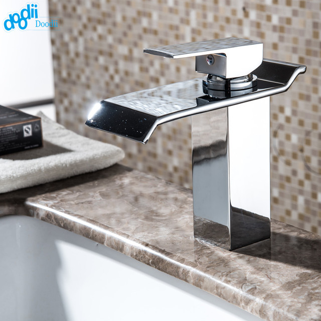 DOODII Wholesale And Retail Chrome Finished Waterfall Bathroom - Wholesale bathroom fixtures