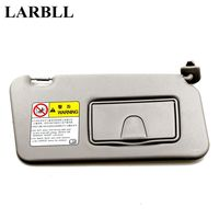 LARBLL Car Auto Sun Visor Shield With Glass Mirror Right Side Front Passenger Side For Suzuki Swift 2006 2016 84801 63J51 6GS