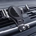 Автомобильное беспроводное зарядное устройство Qi с автоматической индукцией для iPhone X 8 8 Plus  Android  быстрая зарядка  вентиляционное отверстие...