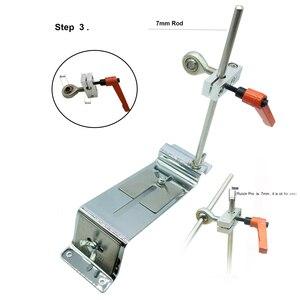 Image 4 - Edge Knife sharpener system reversal clip Cross slider Double row clip Advanced version