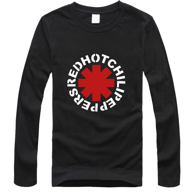 b0a57952a80 Панк Rap Alternative марка одежды футболка homme Red Hot Chili ...