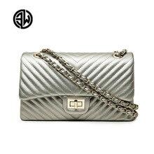 Merk Vrouwelijke 2020 Nieuwe Handtassen Chevrons Modeketen Schoudertas Messenger Bag Cover Kleine Vierkante Pakket Luis Vuiton Gg Tas