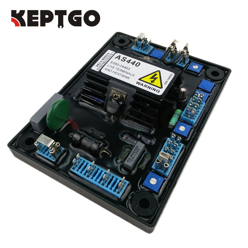 AS440 Generator Automatic Voltage Regulator AVR new free shipping as440 avr automatic voltage regulator avr
