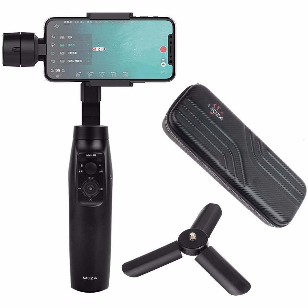 Moza Mini-Mi 3-Axis Handheld Gimbal Stabilizer for Smartphone iPhoneX/8/7/7Plus/6/6 Plus, Samsung Galaxy S8+/S8/S7/S6/S5.Wireles все цены