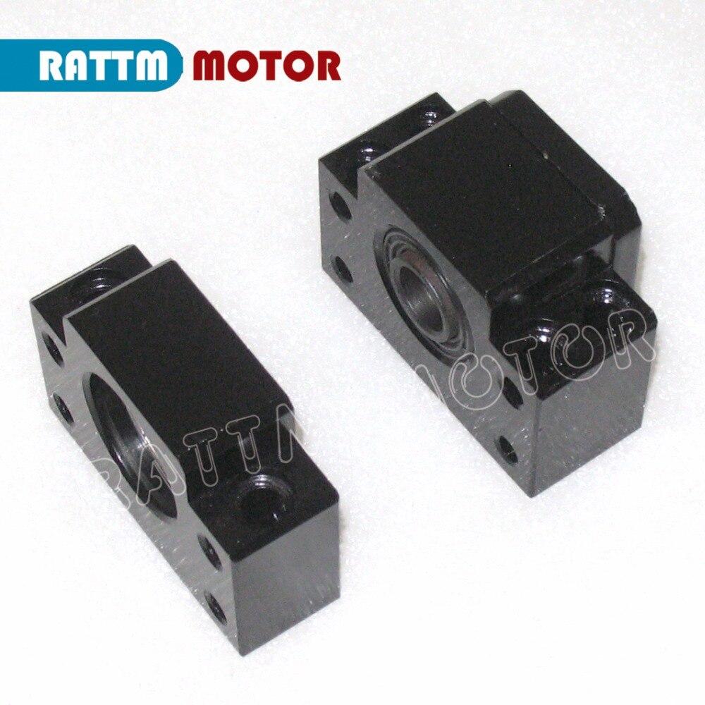 Ballscrew End Supports for CNC machine parts BK/BF10 BK/BF12 BK/BF15 BK/BF17 BK/BF20 BK/BF25 use SFU12041604160520052010....