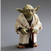 Star War Action Figure Toys Jedi Knight Master Yoda PVC Action Toys 12cm