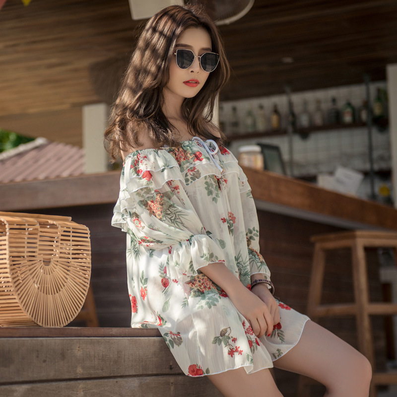 Swimsuit 2019 Deuce Two Piece Bikini New Separate For Women 2 Korean Underwire Bracket Push Up Sexy Three Split Skirt Spandex