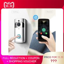 M3 Night Vision WIFI Smart Video Doorbell Wireless Portable Home Door Bell Cordless Phone Intercom Smart Home Parts(China)