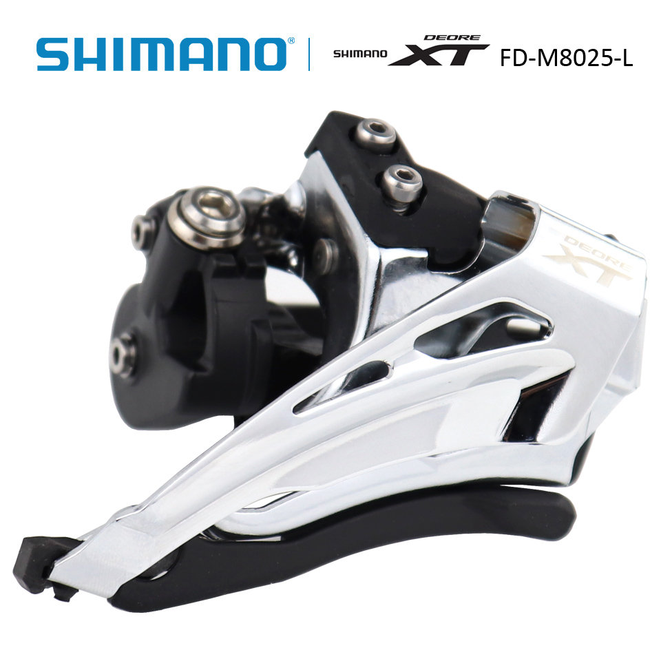 SHIMANO Deore XT FD-M8025 FD M8025 Low Clamp Top Swing Front Derailleur 2x11s MTB Bike hot pvc purse games overwatch wallets for teenager creative gift money bags fashion casual men women short wallet page 10