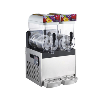 Snow Ice Machine | Commercial Ice Snow Melting Machine/Three Tank Slush Machine/Cold Drink Maker/Smoothies Granita Machine/Sand Ice Machine