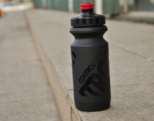 Control Tech Falcon Bicycle Water Bottle,Black 600ml,70g,Road Racing Ultralight Leak-proof Drink Sport Lockable Mouth Cycling 3