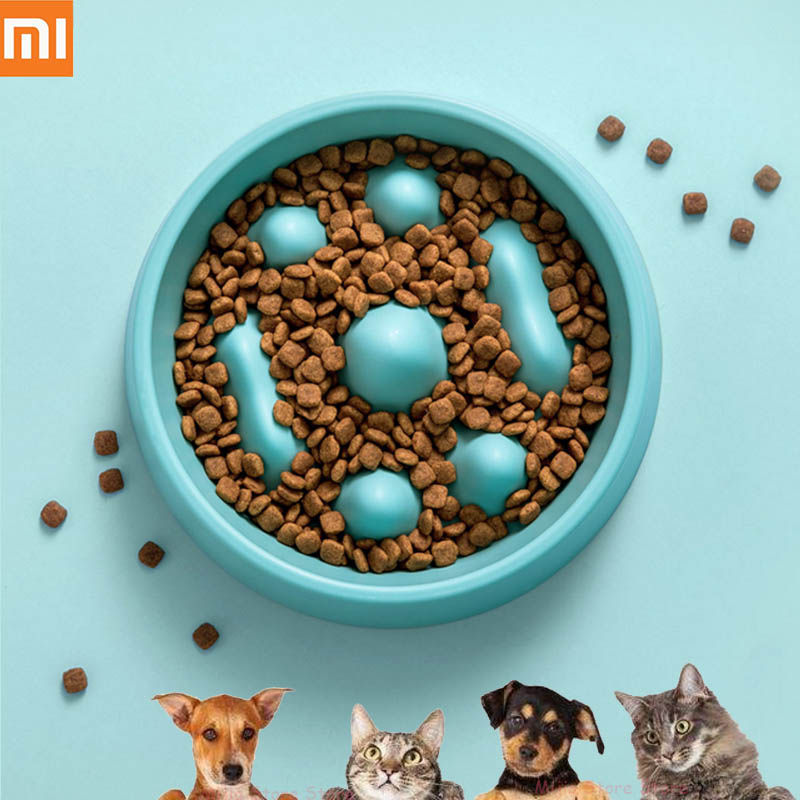 xiaomi-mijia-jotun-judy-pet-slow-food-bowl-healthy-material-chew-slowly-adjusting-emotions-easy-to-clean-pet-feed-pot