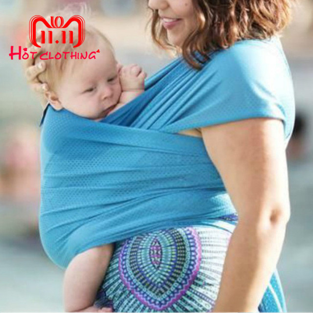 Baby Sling Stretchy Wrap Carrier Adjustable Infant Comfortable