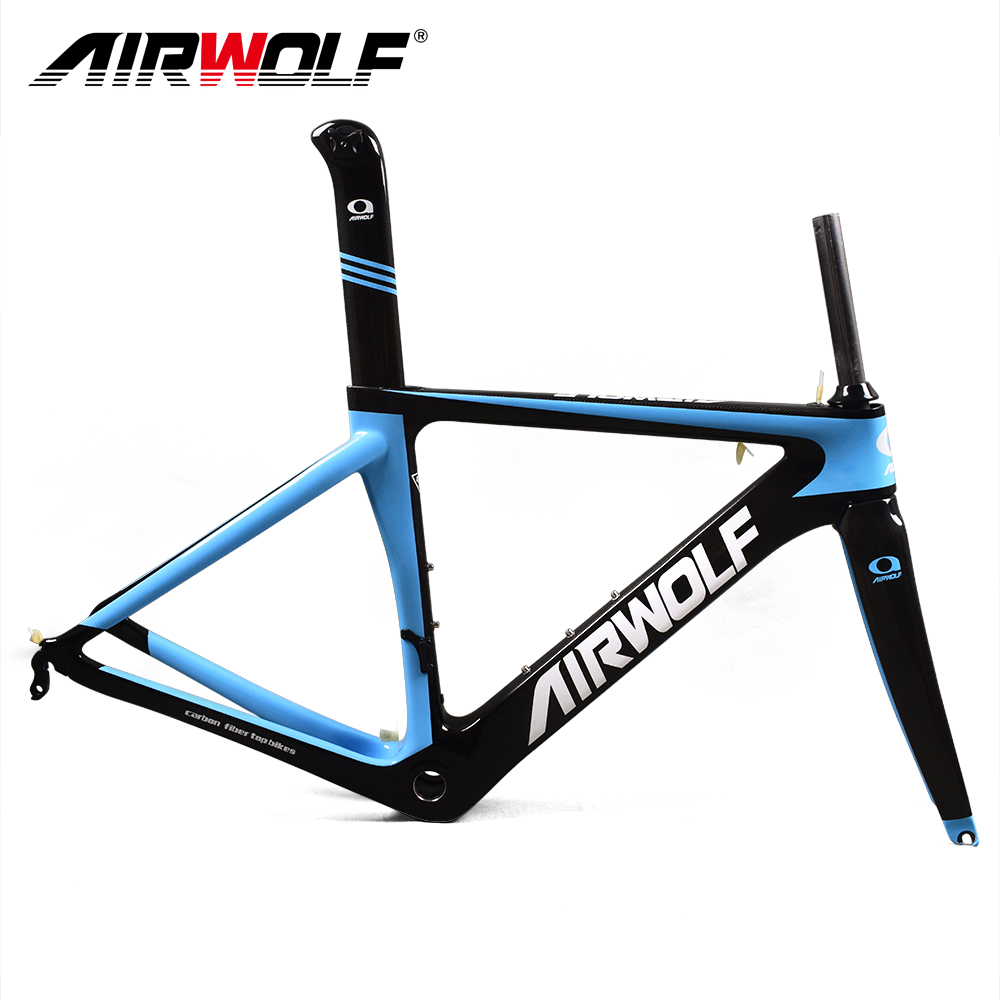 Road-Bike-Frame Carbon for Mechanical/di2 Both Seatpost/headset Include