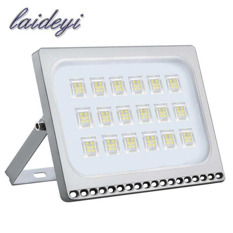 1 pcs 100 w Projecteur LED D'extérieur Led Projecteur Lampe de Sécurité Paysage Lumière 220 v Étanche Projecteur Extérieur Lampadaires