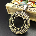 Magi The Labyrinth Of Magic Necklaces Trendy Antique Silver and Bronze