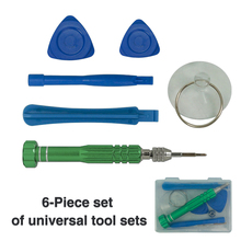 цена на Universal 6 in 1 Opening Tools Disassemble for iPhone Repair Tools Kit Screwdriver Set