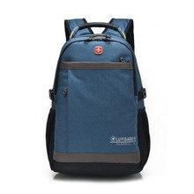 Brand 2019 Men Travel Backpacks Teenagers Casual Oxford Large Laptop