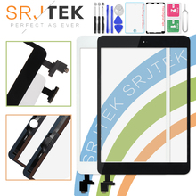 SRJTEK Voor iPad Mini Screen 1 iPad Mini 2 Touch Screen A1432 A1454 A1455 A1489 A1490 A149 Digitizer IC Kabel home Button Mini2(China)