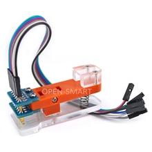 أداة اختبار وحدة المبرمج PCB أداة اختبار 1*6 P يستخدم مسبار مطلي بالذهب لاختبار الوحدة ، رمز تحميل اللوحة لـ Arduino Pro Mini