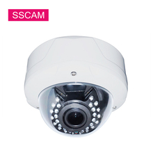 2MP 4MP Panorama Fisheye AHD Camera 360 Degrees Wide Angle Fish Eye Lens Surveillance Home Security CCTV Camera OSD Cable