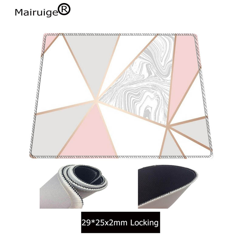 Mairuige 900x400mm Rose Gold Marble Keyboards Mat Rubber Gaming Large mousepad Desk Mat Decorative desktop gaming mouse mat pad 3