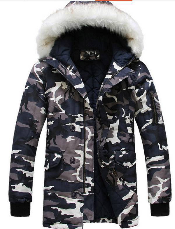 Men cotton padded  camouflage uniforms coat chaquetas hombre 2014 male thick winter warm outwear jacket clothes S509