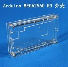 5 ШТ./ЛОТ Корпус Прозрачный Блеск Акриловая Совместимый для arduino Mega 2560 R3 Случае