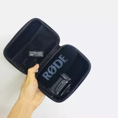 Hard Protecting Case for RODE videomic pro plus + ,AriMic EVA Hard Travel Case Carrying Bag for RODE VideoMic Me