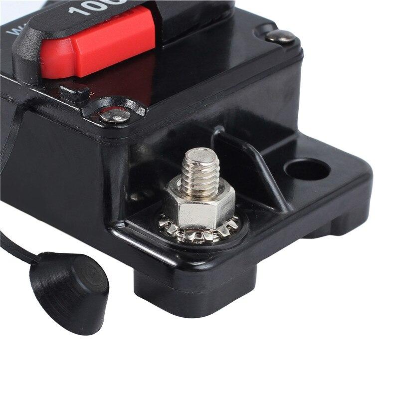 Circuit Breaker Dual Battery System Boat Fridge 12V 24V Fuse AUTO Reset 25A