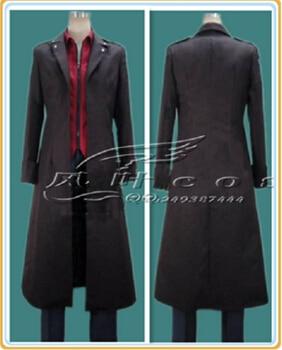 Free shipping Attack on Titan Shingeki no Kyojin Eren Levi  top+pant+coat Cosplay Costume any size