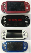 100% Nuovo per Playstation PS Vita PSV 1000 1001 Lcd Screen Display + Touch Digitizer + Frame Trasporto Libero 4 colori