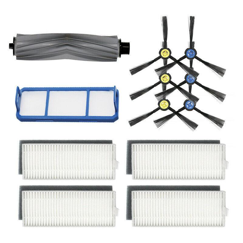Offre spéciale Main brosses + filtre + éponges pour Ilife A7 A9S aspirateur Kit de remplacement