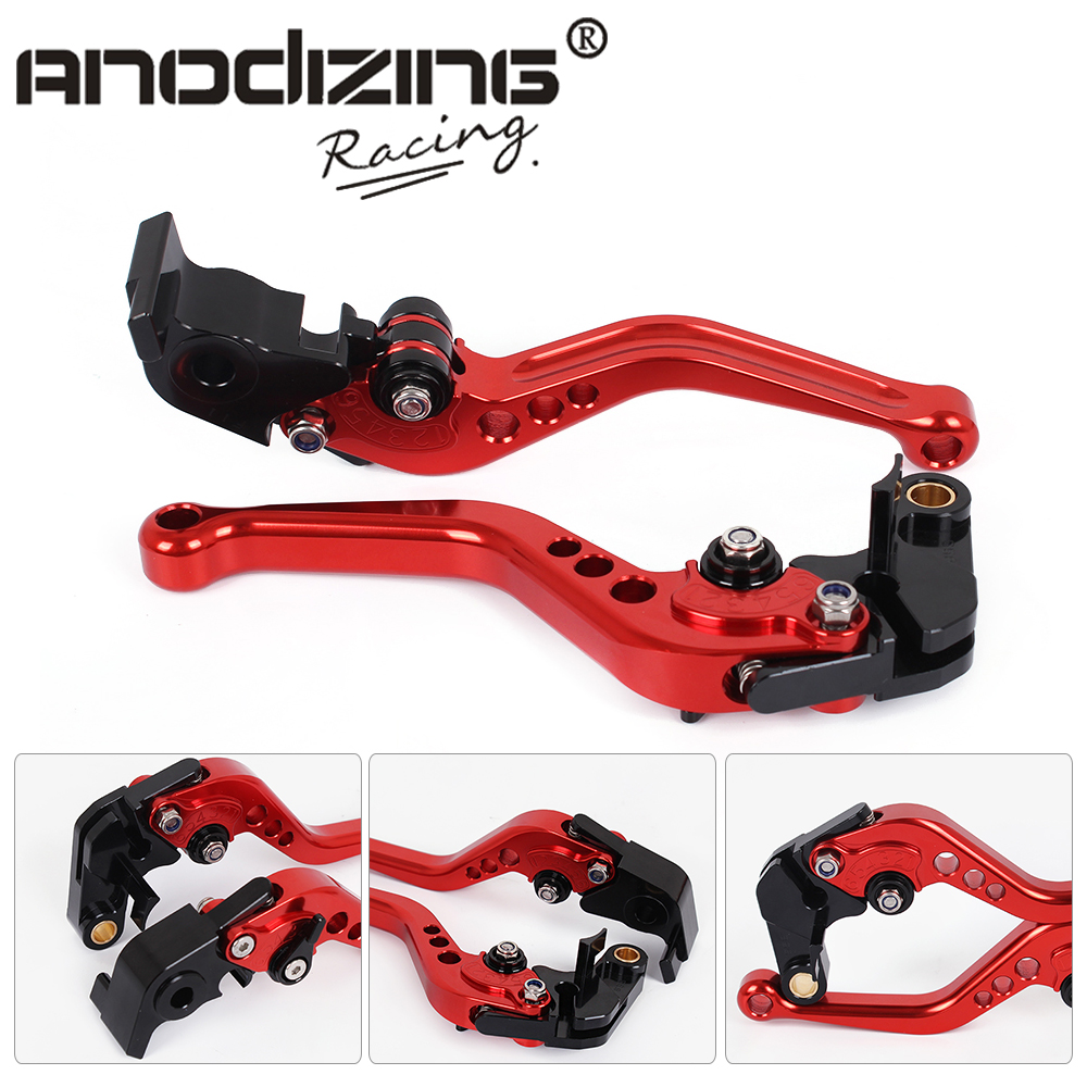 F-11 V-4A Motorcycle Brake Clutch Levers For Aprilia RSV4 FACTORY/RSV4-R/RR 2009-2017  TUONO V4 1100RR/Factory 2017 billet short folding brake clutch levers for aprilia dorsoduro 750 1200 fighter tuono 1000 rsv 1000 r mille sl1000 falco etv1200