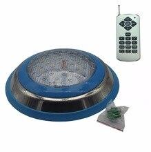 Oberfläche Pool LED 12V Unterwasser Licht RGB Schwimmen Lampe IP68 Wasser beweis Edelstahl 36W 45W 54W Brunnen Beleuchtung