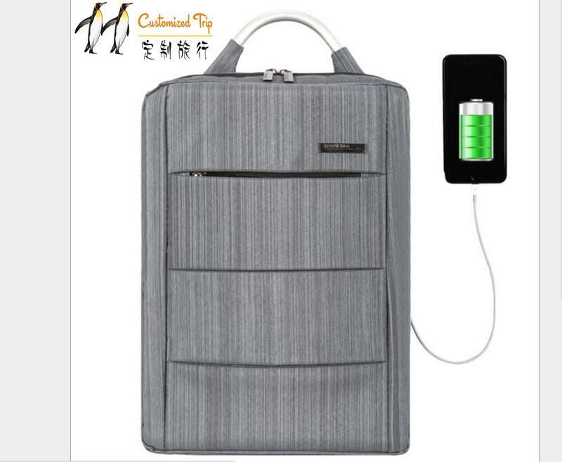 Multifonction USB charge hommes 16 pouces sacs à dos d'ordinateur portable pour adolescent mode mâle Mochila loisirs voyage sac à dos anti-voleur sacs
