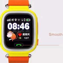 Q70 smart watch 400มิลลิแอมป์ชั่วโมงโทรศัพท์โทรแชทสำหรับa ndroid iosโทรศัพท์สีฟ้า/orange