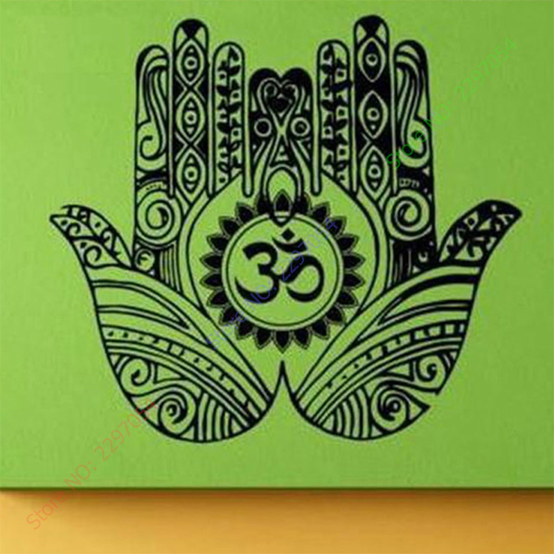 Yoga Wall Room Decor Art Vinyl Wall Stickers Mural Decal