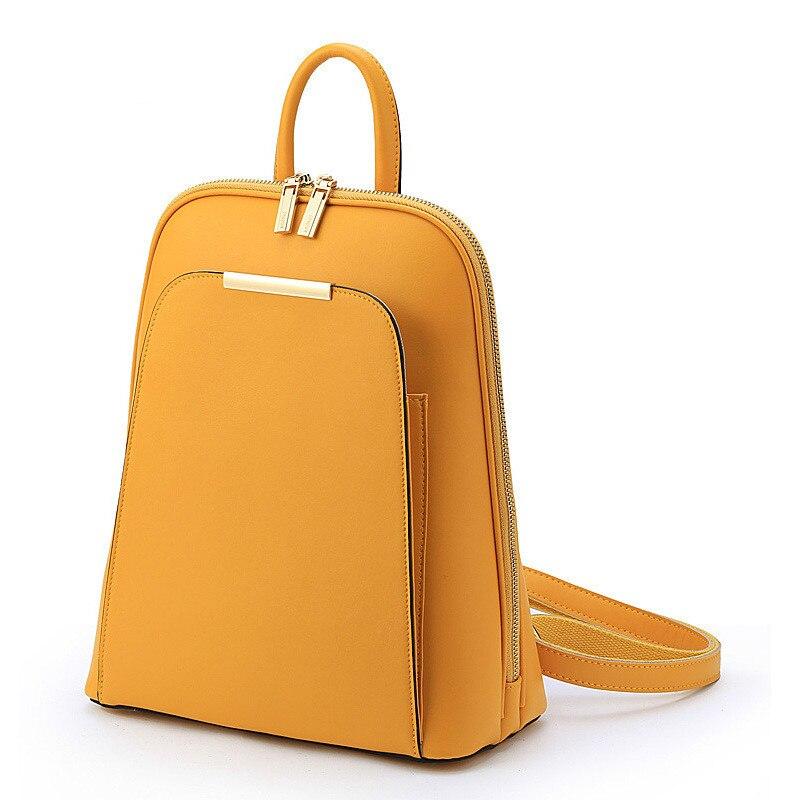 Korean Candy Cute Backpack Women Genuine Leather Luxury Back Pack Women Bags Designer Bookbags for Teenage